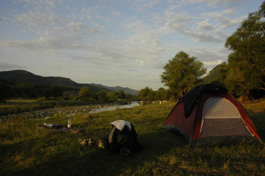 Camping in Nagorno Karabakh