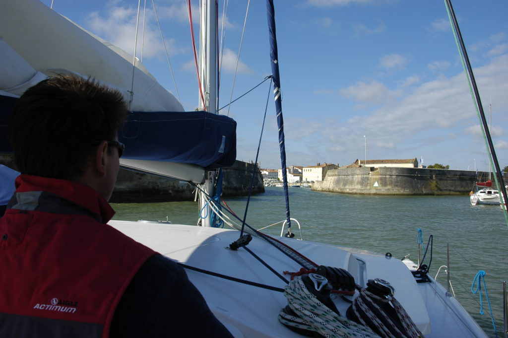sailing in la rochelle france
