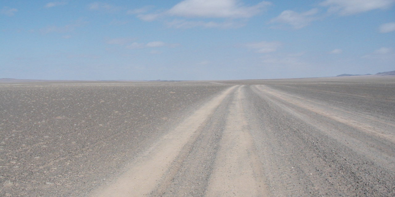 Photo of the Week: Mongolian Roads
