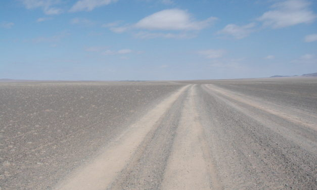 Photo of the Week: Mongolian Roads