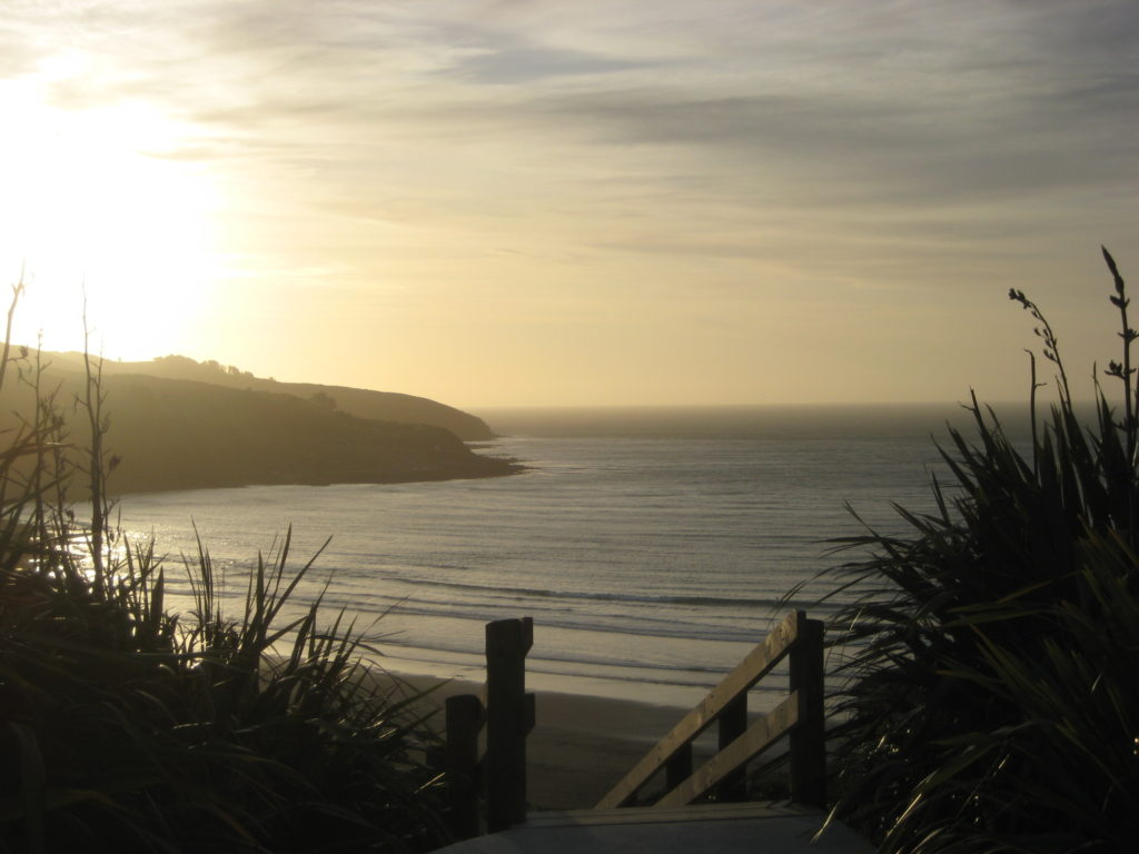 Raglan New Zealand Sunset