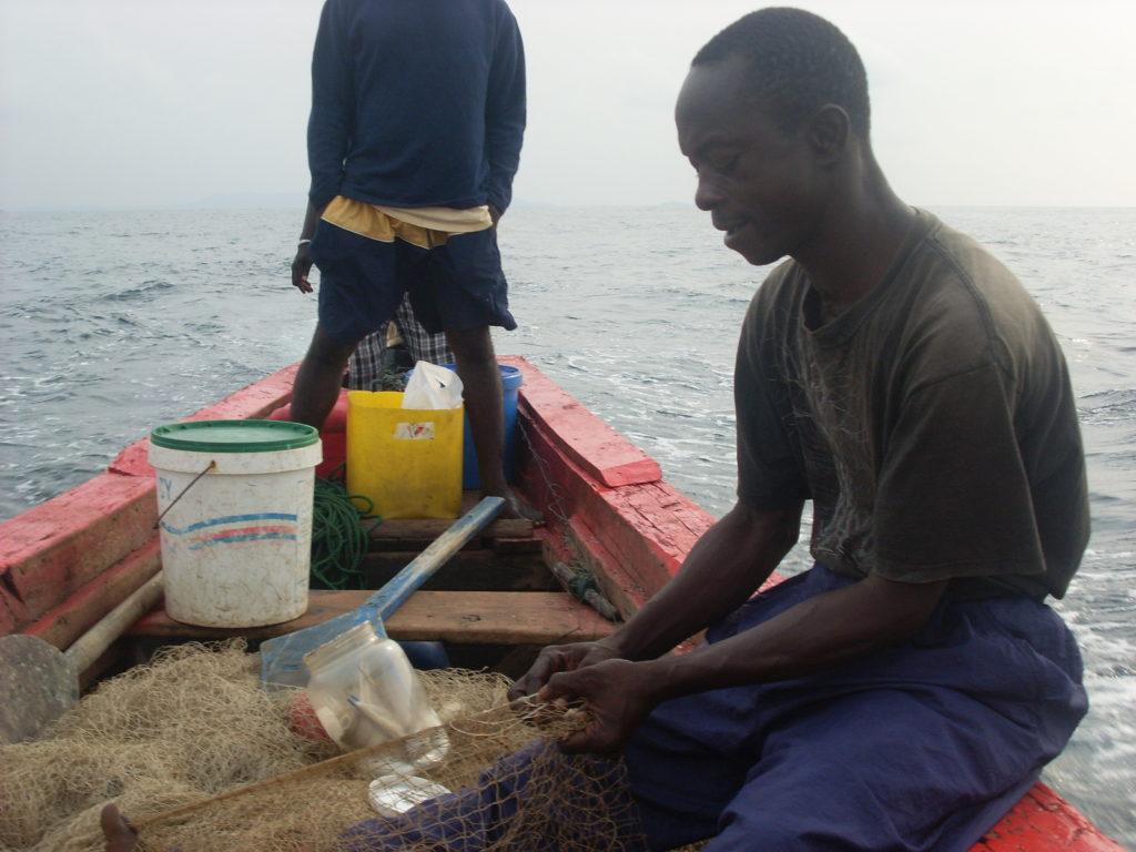 guinea fisherman africa
