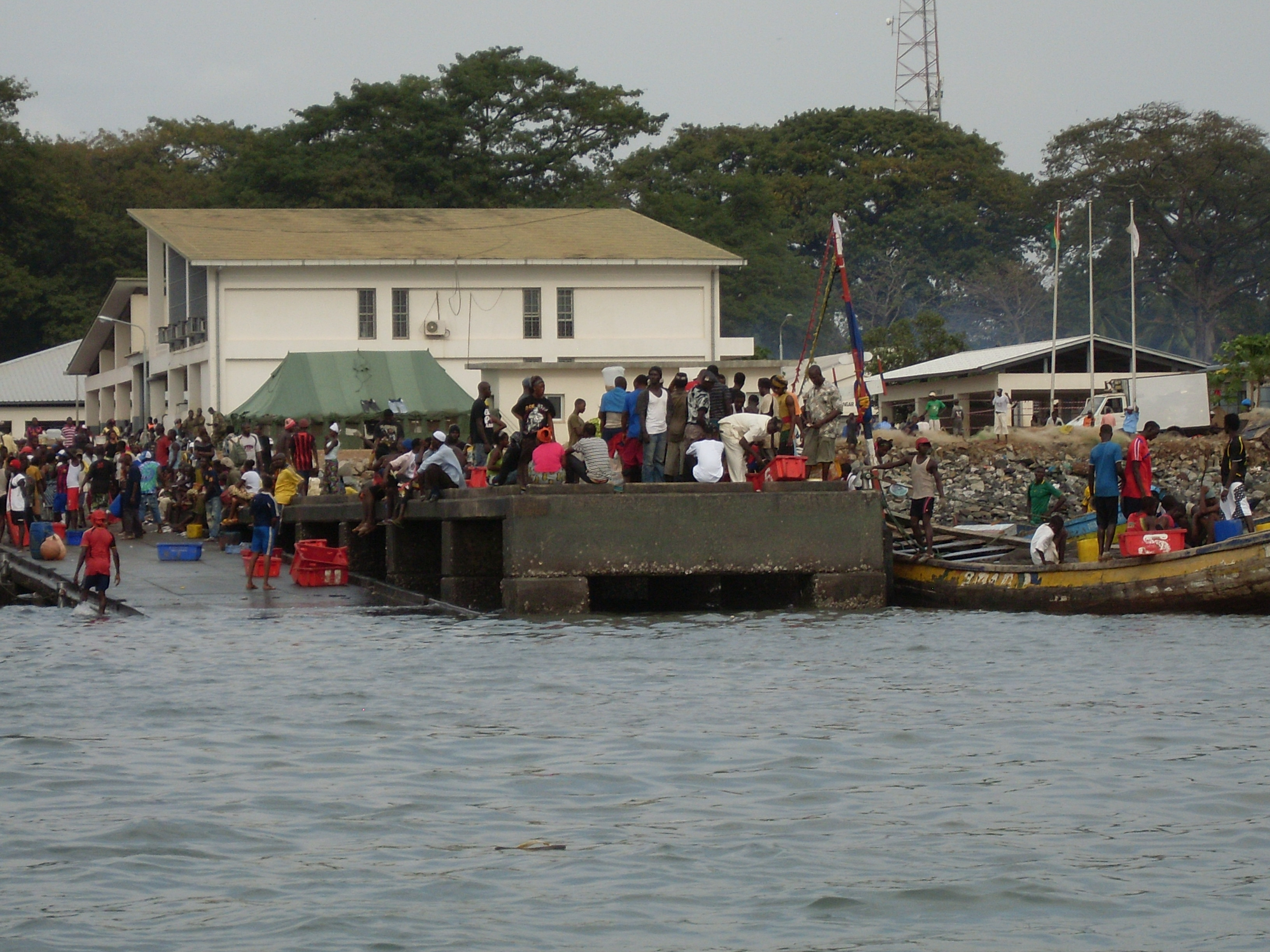 conakry port guinea africa