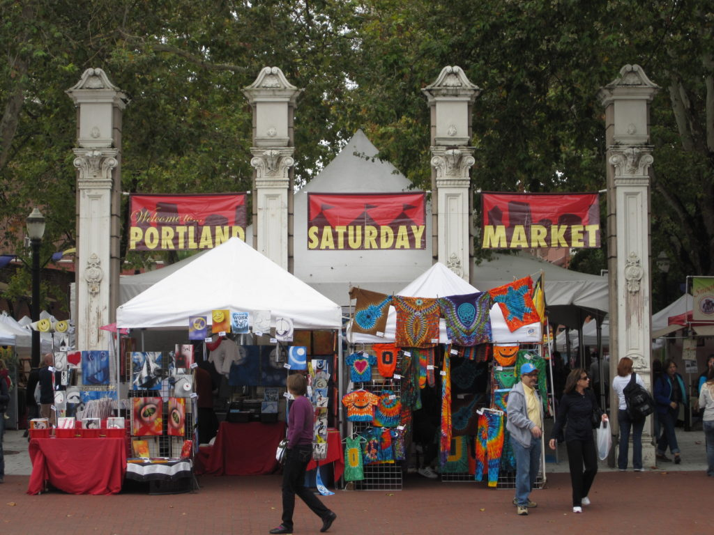 Portland Oregon Saturday Market