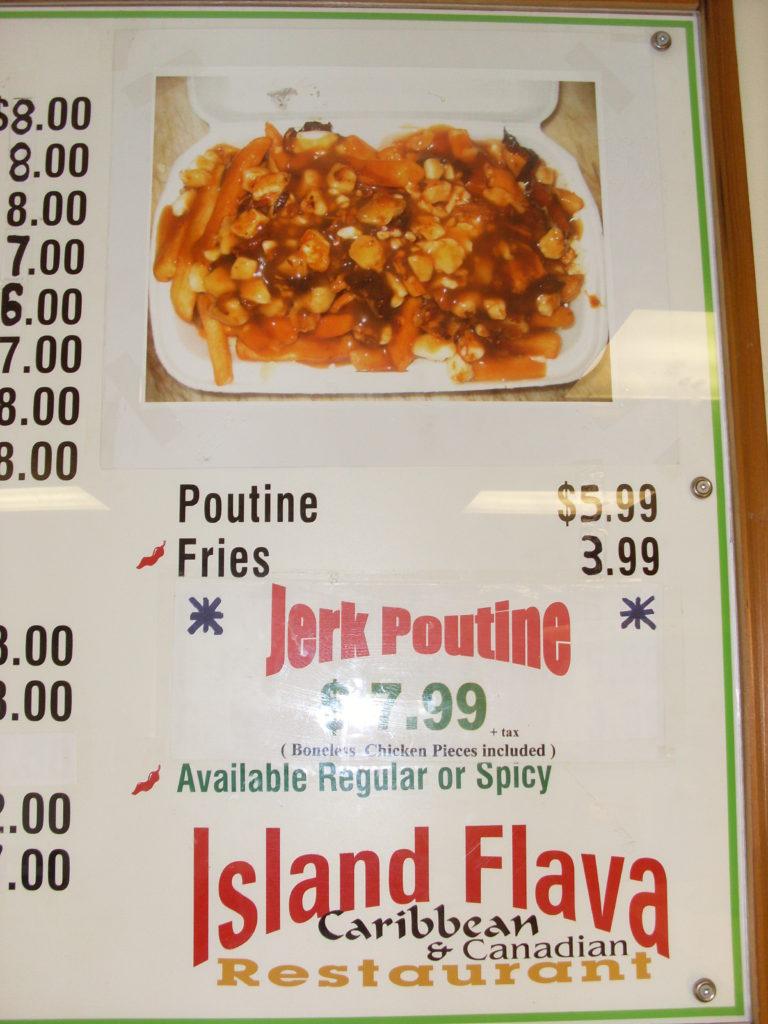 island jerk poutine canada