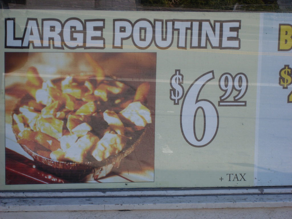 large poutine canada