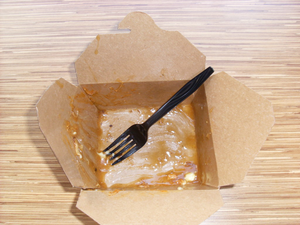 pulled pork poutine after canada