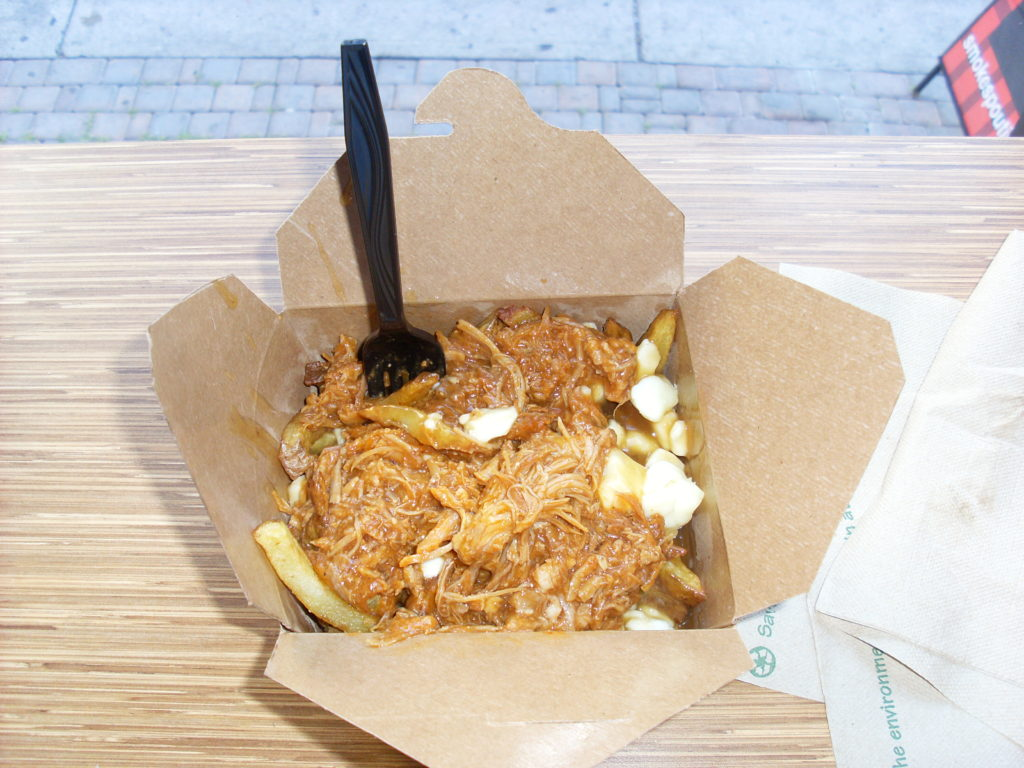 pulled pork poutine before canada