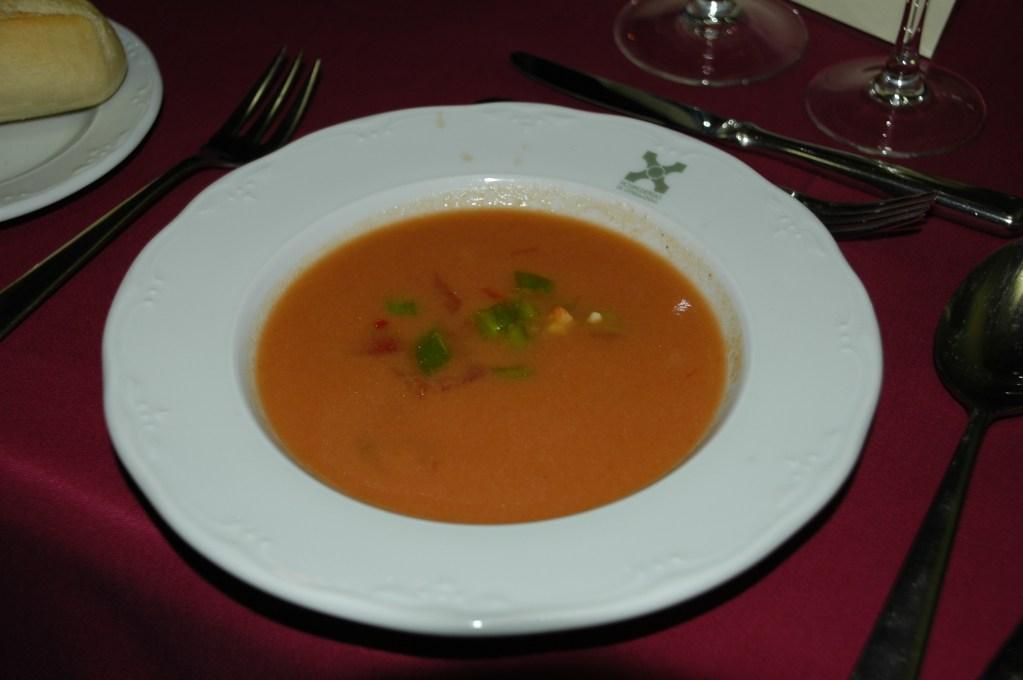 Gazpacho spain food