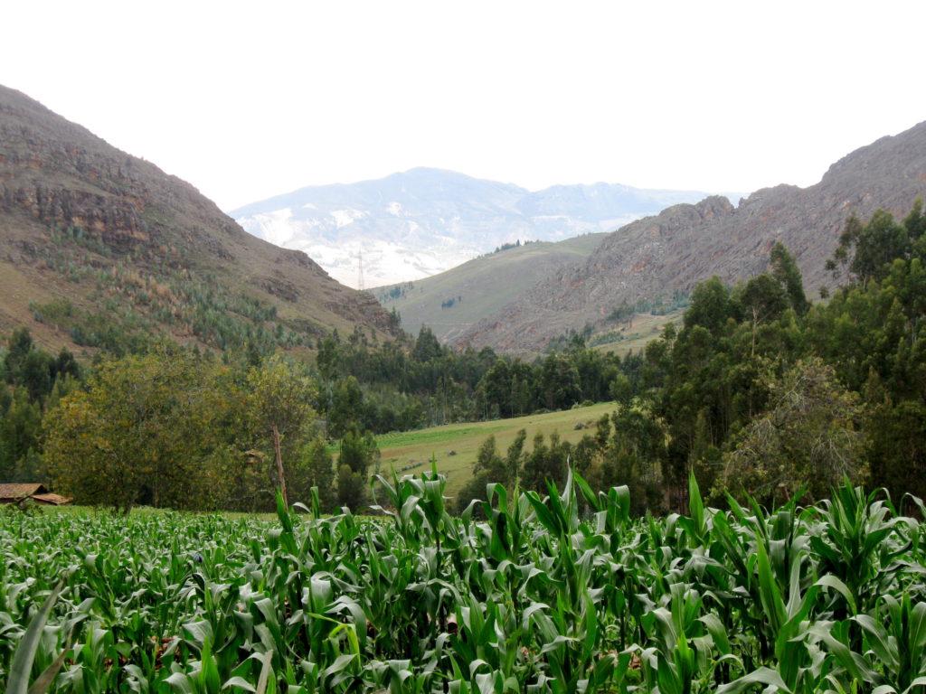 landscape Banos del Inca cajamarca peru