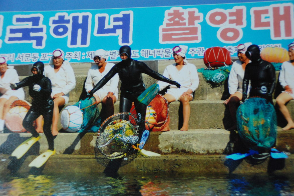 haenyeo woman divers jeju