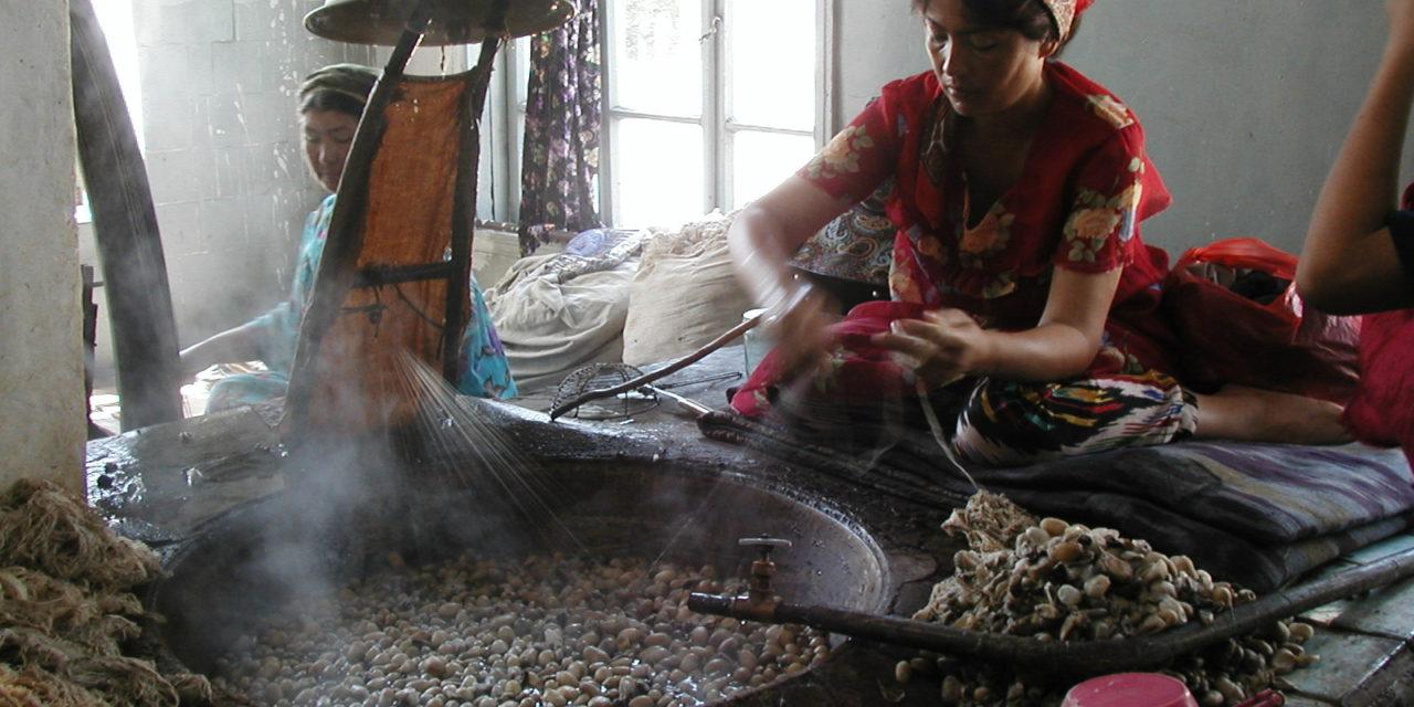 Photo of the Week: Uzbekistan Silk Factory