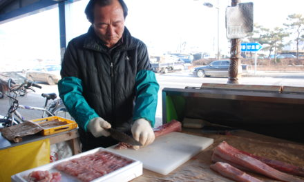 Photos of Mokpo's Fish Market