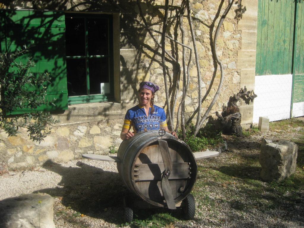 wine barrel flying machine