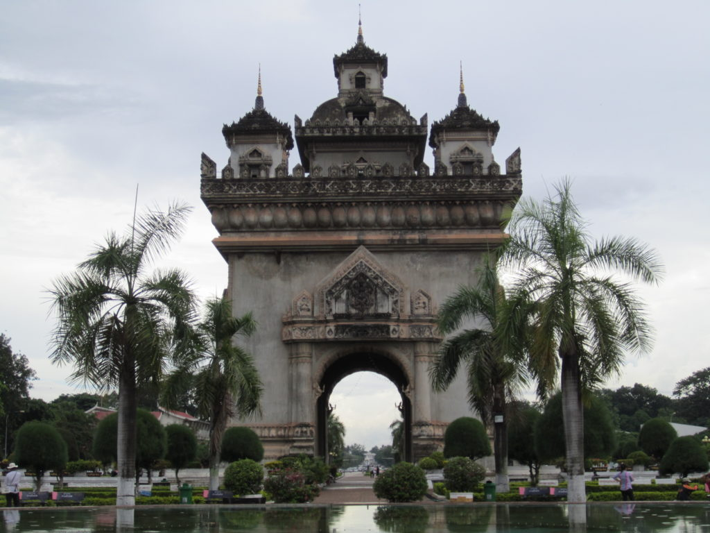 Vietianes Arc de Triomphe