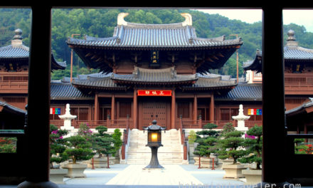 Photo of the Week: Chi Lin Nunnery and Nam Lian Garden, Hong Kong