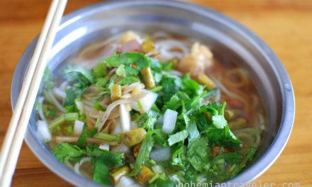Eating in Guangxi China
