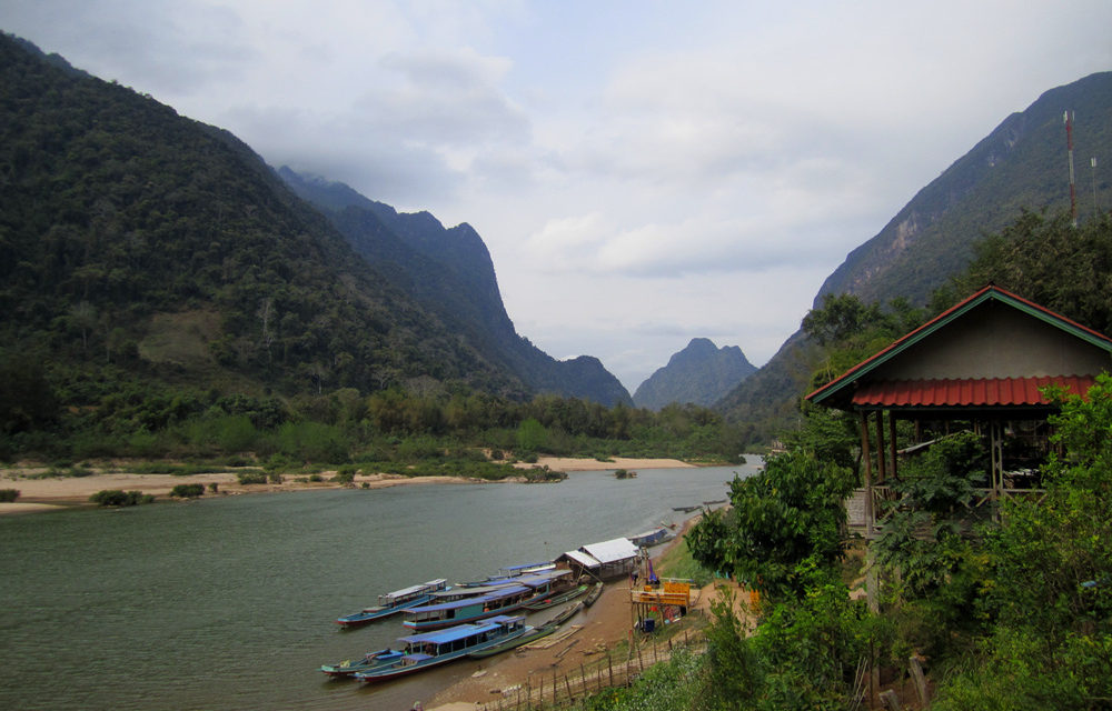 Photo of the Week: Muang Ngoi and surrounding Countryside, Laos
