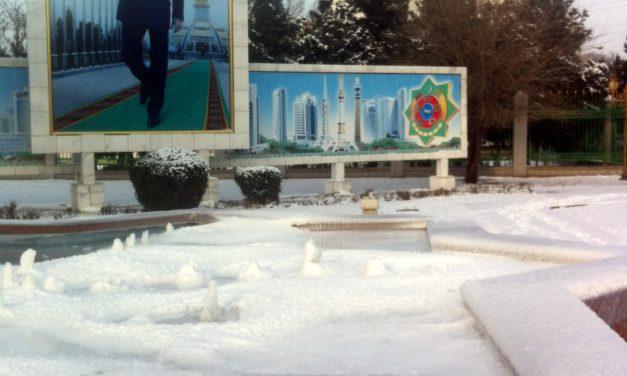 Letters from Ashgabat–Landing in Turkmenistan's Capital