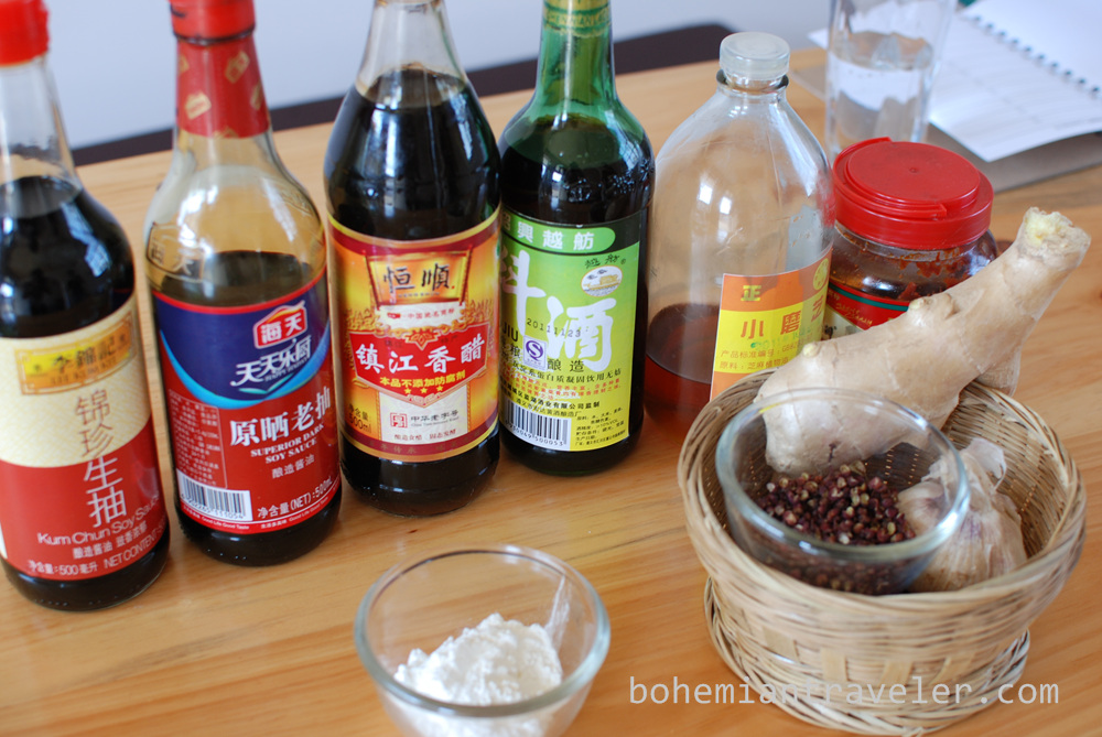 Chinese cooking lessons in dali china for Asian cuisine ingredients