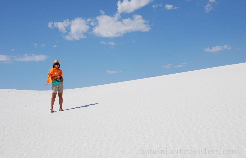 Climbing over White Sands [Photos]
