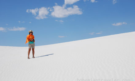 Climbing over White Sands [Photos]