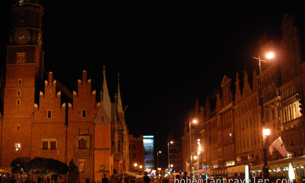 Photo of the Week: Wroclaw Poland Market Square at Night