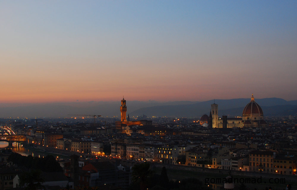 Photo of the Week: View over Florence Italy