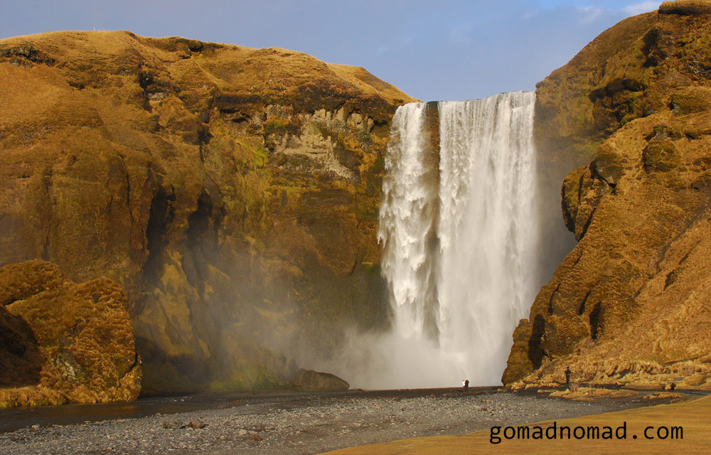 Photo of the Week: Iceland Waterfall Skógafoss.