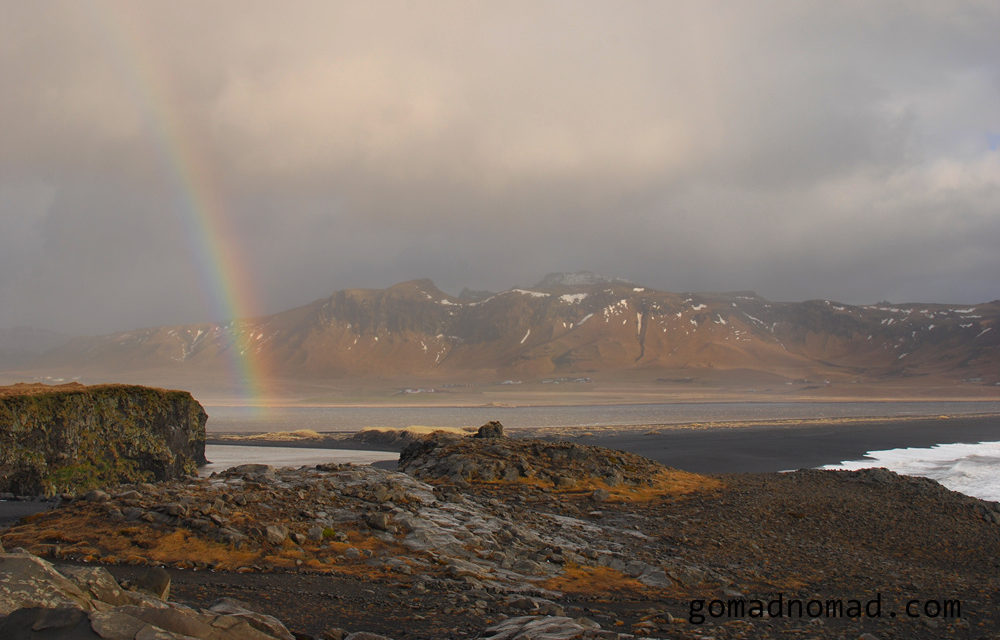 Photo of the Week: Rainbow over Iceland Coast