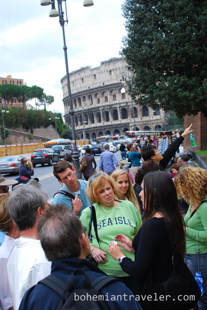 our Walks of Italy tour group
