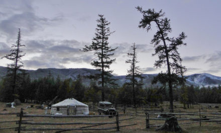 Photo of the Week: Khovsgol Lake Panorama Mongolia