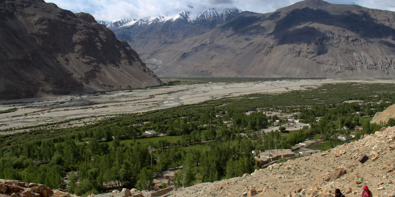 Photo of the Week: View above the Tajik Wakhan