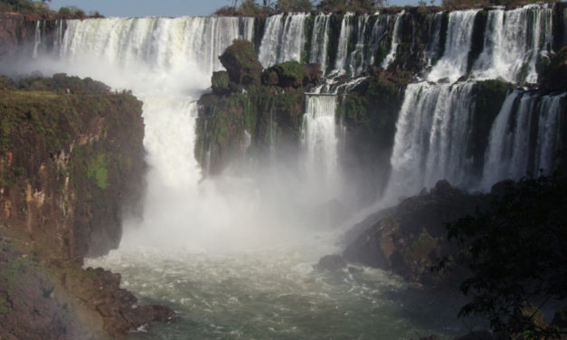 Photo of the Week: Iguazu Falls taken from Argentina