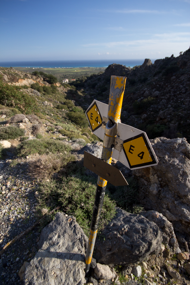 Crete's E4 Trail