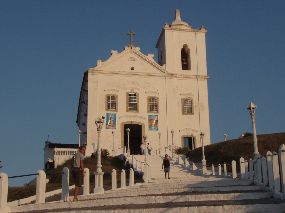 The Church of Our Lady of Nazareth, Saquarema.