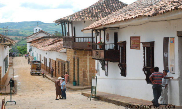 Photo of the Week: Colonial Streets of Barichara Colombia
