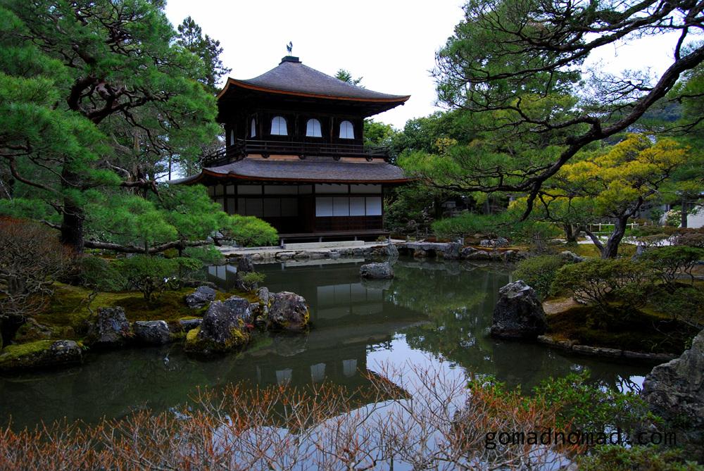 Ginkaku-ji The Silver Pavilion Kyoto Japan