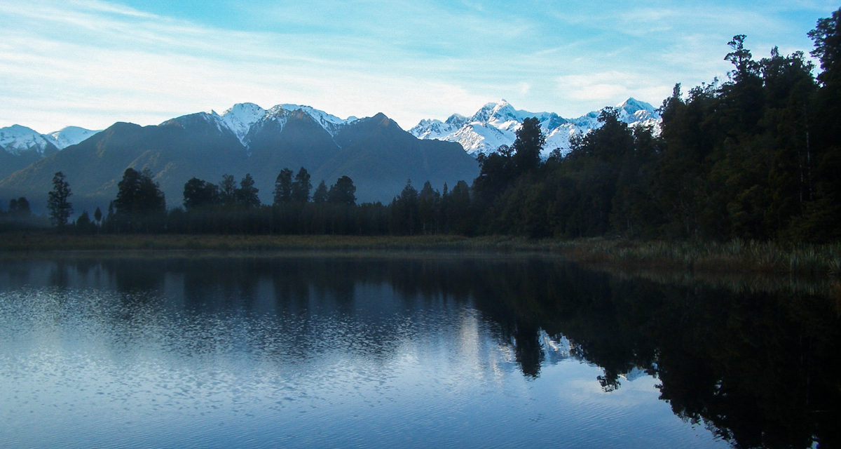 Photo of the Week: Lake Matheson New Zealand