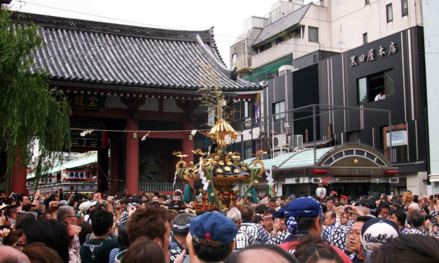 Introducing: Three Shrine Festival in Tokyo