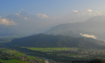 Photo of the Week: Annapurna Range at Sunrise