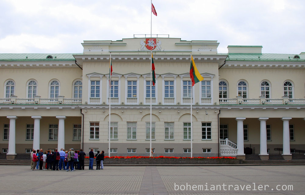 Photo of the Week: Presidential Palace Vilnius