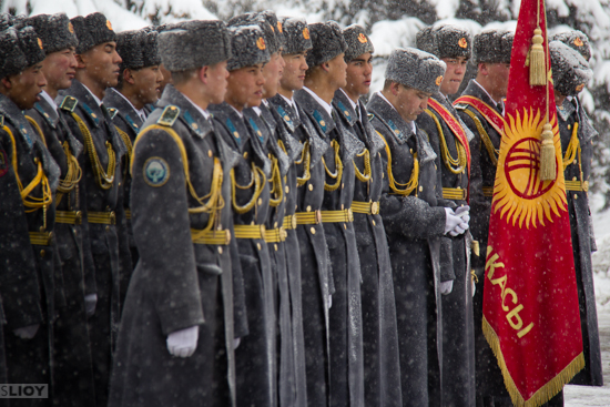 Photo of the Week: 'Defender of the Fatherland Day' in Kyrgyzstan