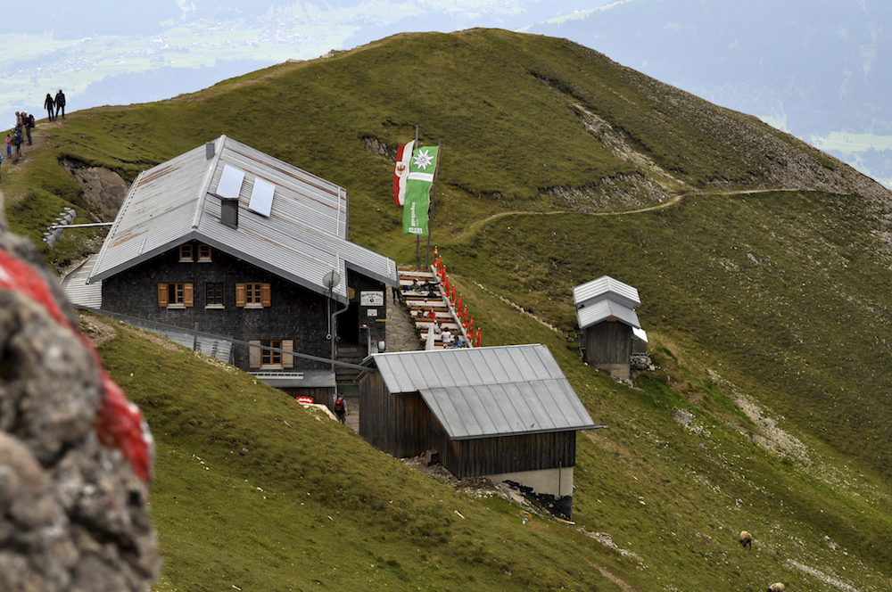 austrian mountain huts