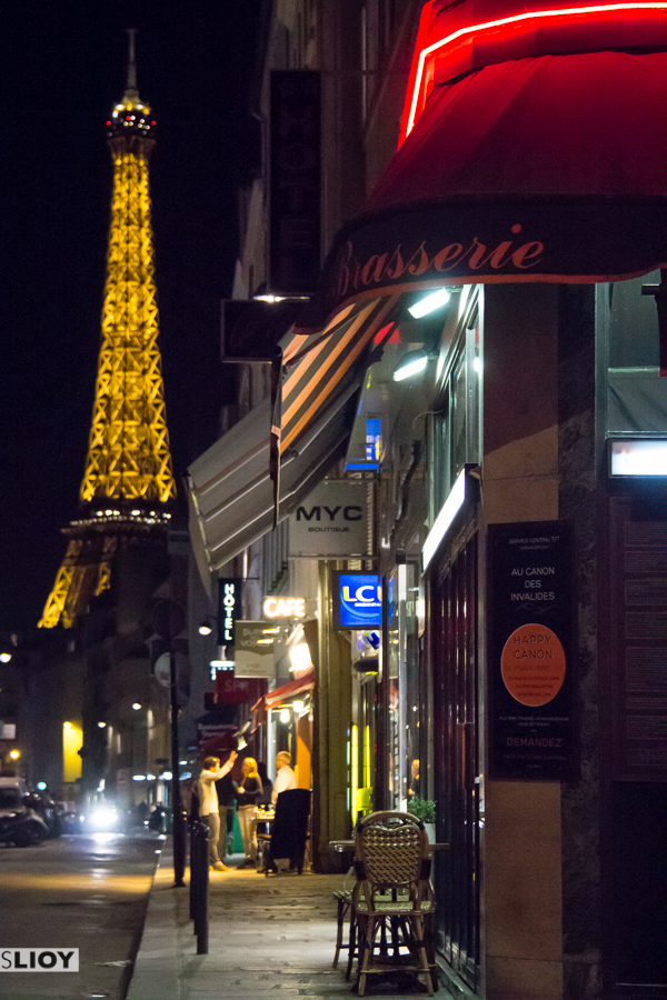 photo of the week paris by night