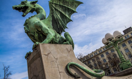 Photo of the Week: Dragon Bridge of Ljubljana