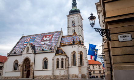 Photo of the Week: St. Mark's Square Zagreb