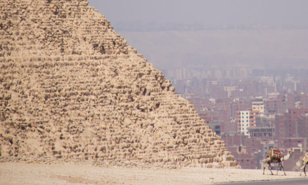 Photo of the Week: The Pyramids at Giza