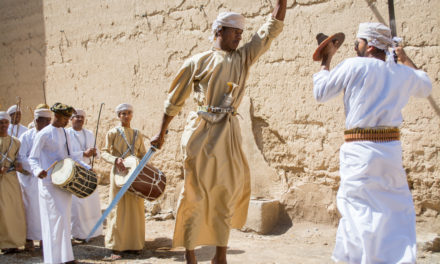 Photo of the Week: Omani Sword Fight in Al Hamra
