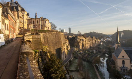 Photo of the Week: Winter in Luxembourg City